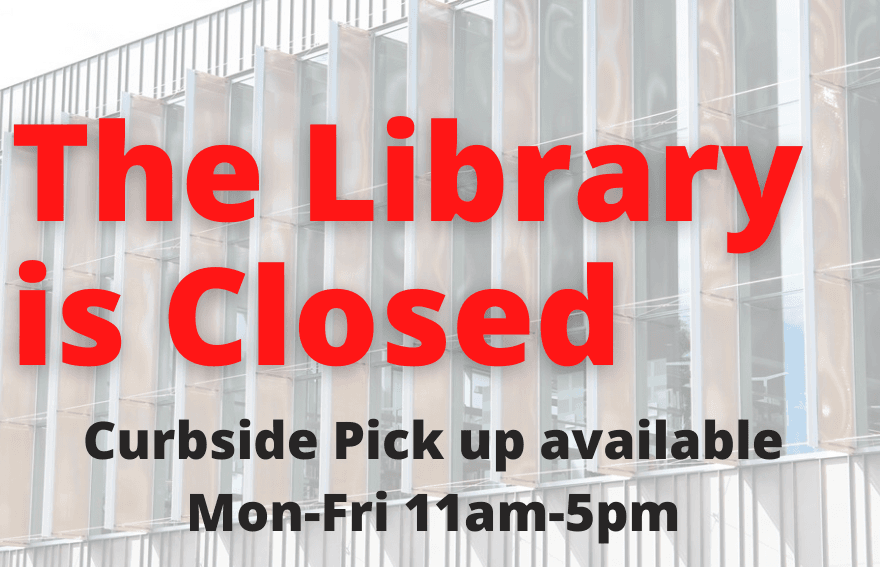 The Library is Closed