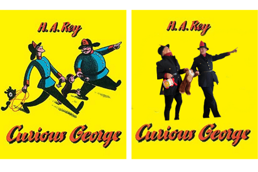 Curious George Book cover